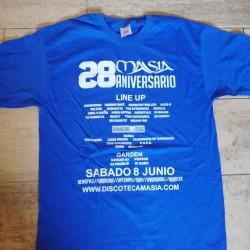 Camiseta 28 Aniversario